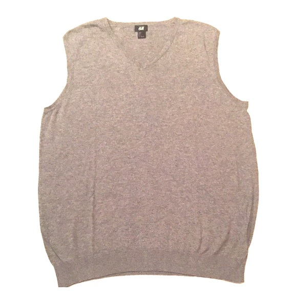 H&M Other - H&M Grey / Gray Sweater Vest - Large